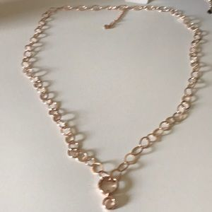 Jewelry - New rose gold chunky necklace.